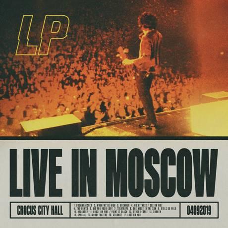 """LP vydáva živý album """"Live In Moscow"""" a šíri tak energizujúci zážitok z koncertu."""