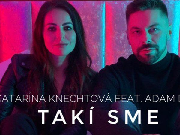 """Katarína Knechtová predstavuje duet s Adamom Ďuricom """"Takí sme"""", sexi klip nakrúcala na zámku!"""