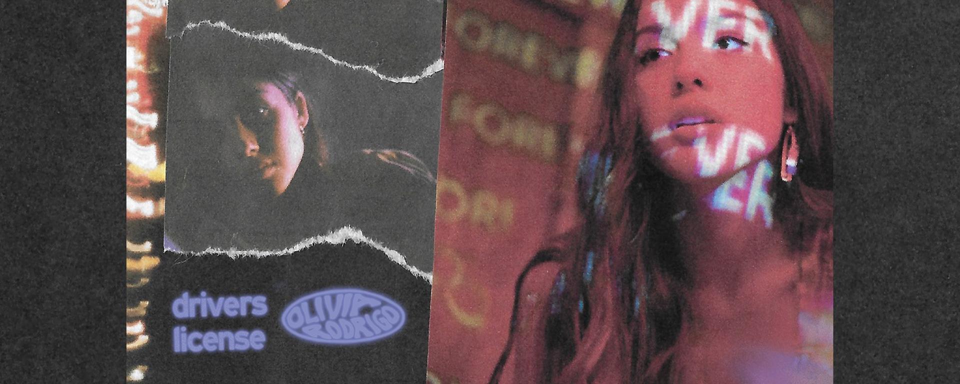 """Olivia Rodrigo vydáva hit """"drivers license""""."""