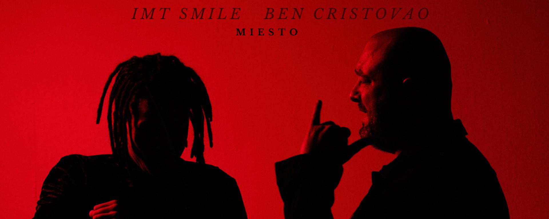 """IMT Smile a Ben Cristovao predstavujú spoločnú skladbu """"Miesto""""."""