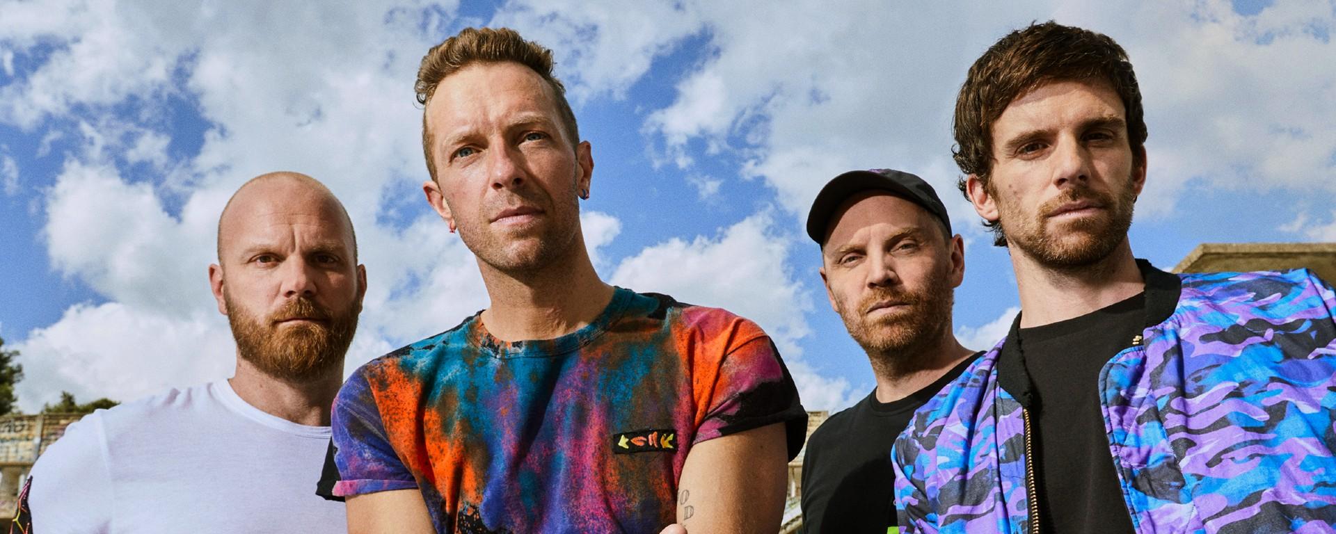 """COLDPLAY vydali nový album """"Music Of The Spheres""""."""